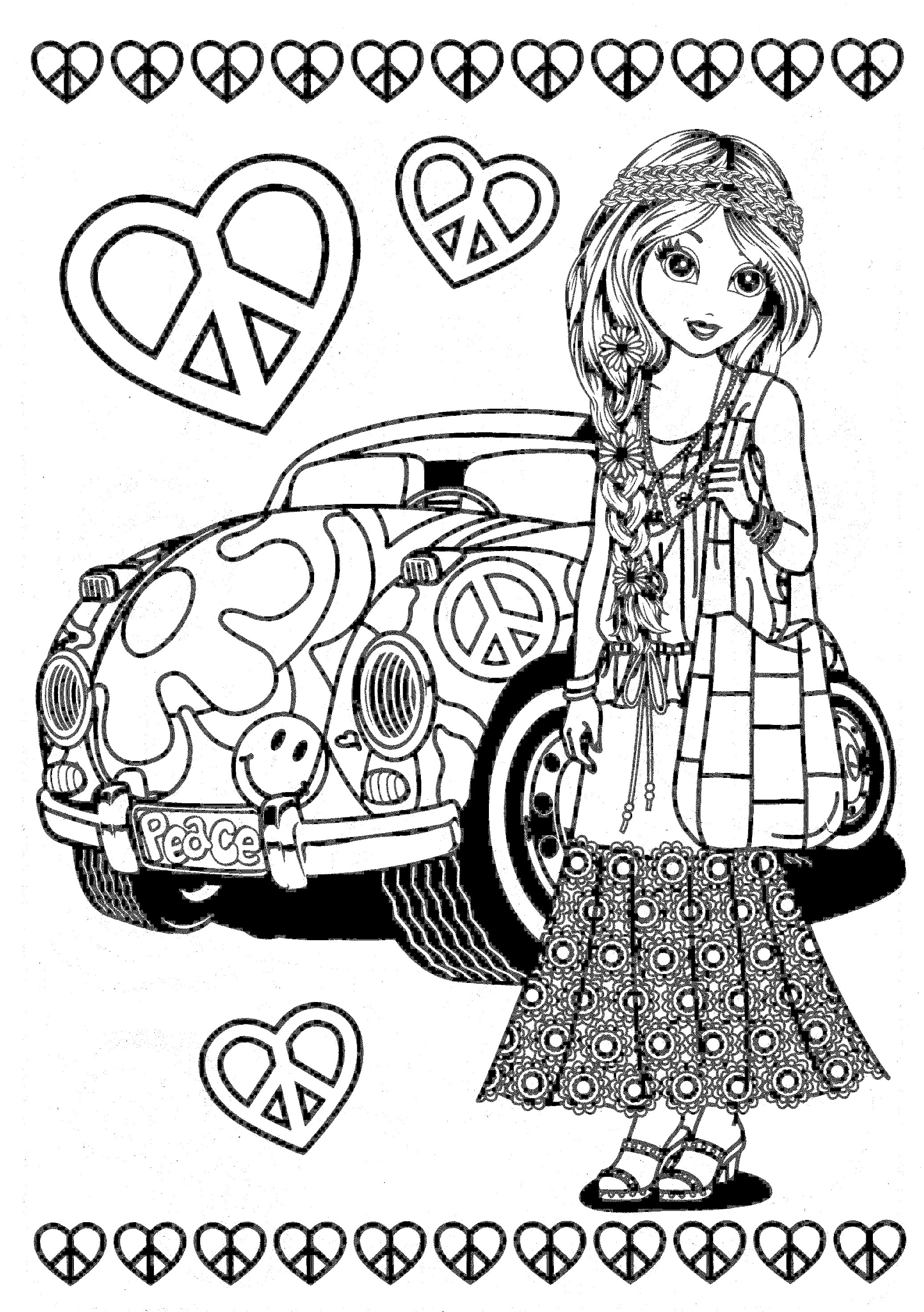 2077x2950 Lisa Frank Coloring Pages Adult Coloring Pages
