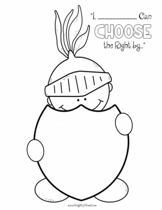 320x414 Lds Primary Choose The Right Sharing Time Helps Free Coloring