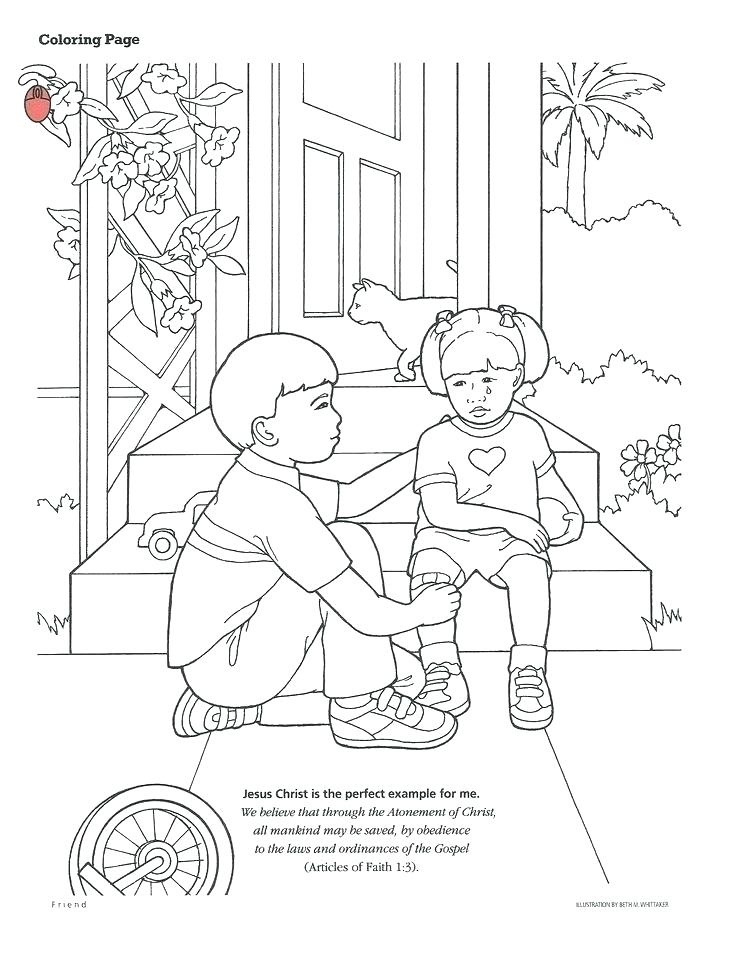 736x960 Lds Coloring Pages Simple Coloring Pages Kids Smith