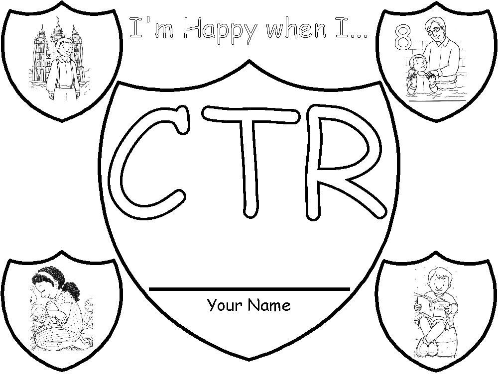 1000x752 Ctr Shield Coloring Page Primary Ctr Shield