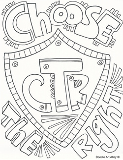250x323 Choose The Right Coloring Pages