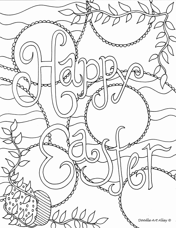 618x800 Easter Coloring Pages Doodle Art Alley Coloring Pages Household