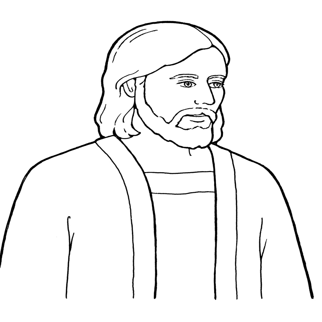 Christ Coloring Pages