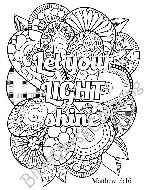 Christian Adult Coloring Pages at GetDrawings.com | Free ...