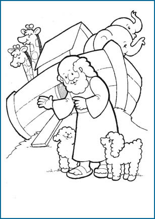 307x432 Christian Thanksgiving Coloring Pages