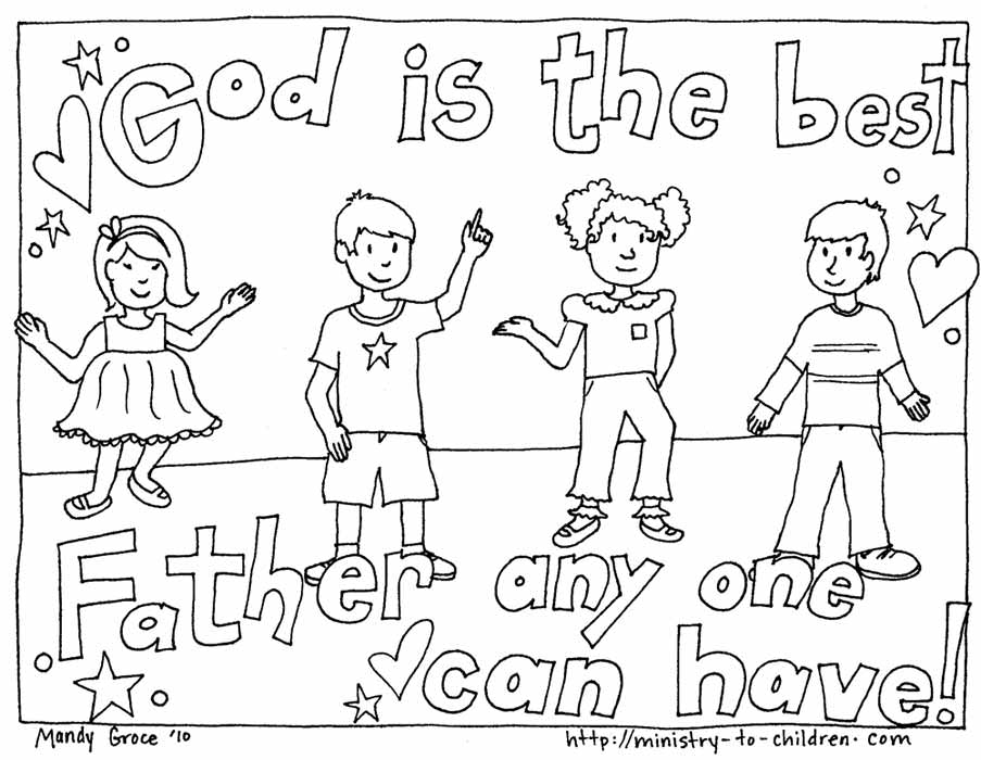 903x700 Free Christian Coloring Pages For Kids Warren Camp Design Free
