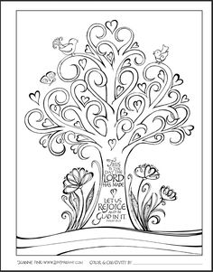 236x301 Free Printable Bible Verse Coloring Pages With Bursting Blossoms
