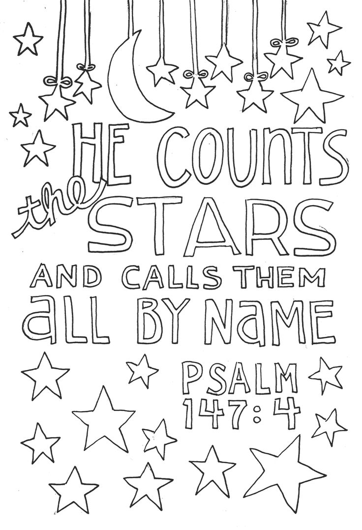 736x1078 Printable Christian Coloring Pages