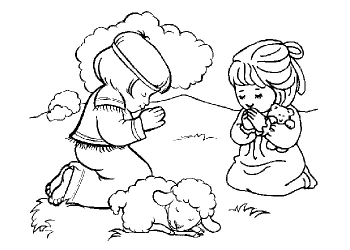 700x500 Free Christian Coloring Pages For Toddlers Free Bible Coloring