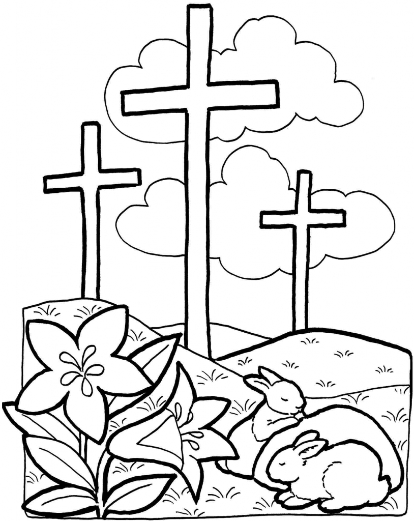 814x1024 Christian Coloring Pages