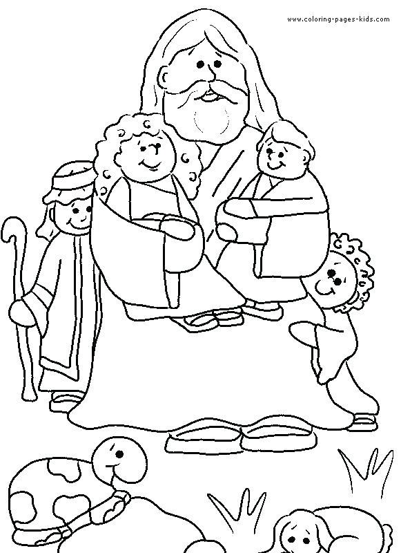 581x800 Christian Coloring Pages For Kids Best Free Christian Coloring