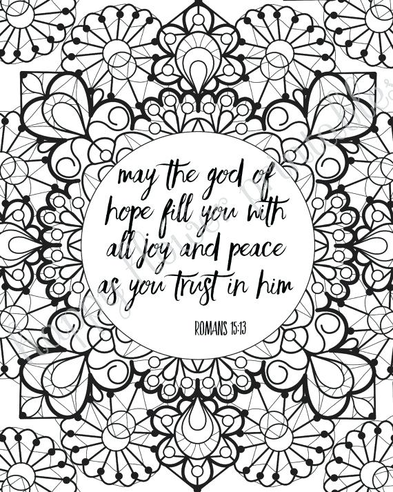 570x713 Bible Verses Coloring Page Popular Christian Coloring Pages