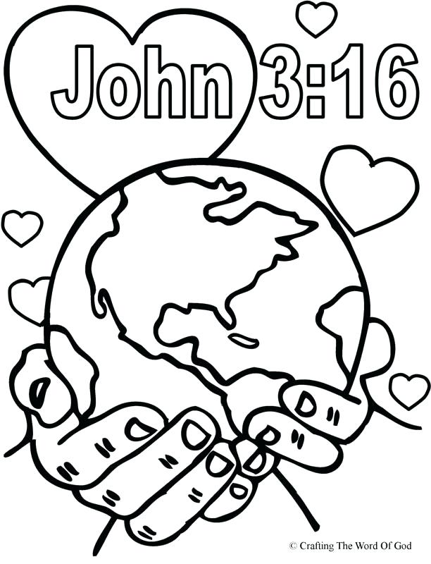 612x800 Christian Color Pages Best Bible Coloring Pages Ideas On Bible