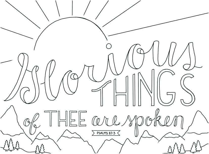 827x609 Printable Bible Coloring Pages With Verses Vanda