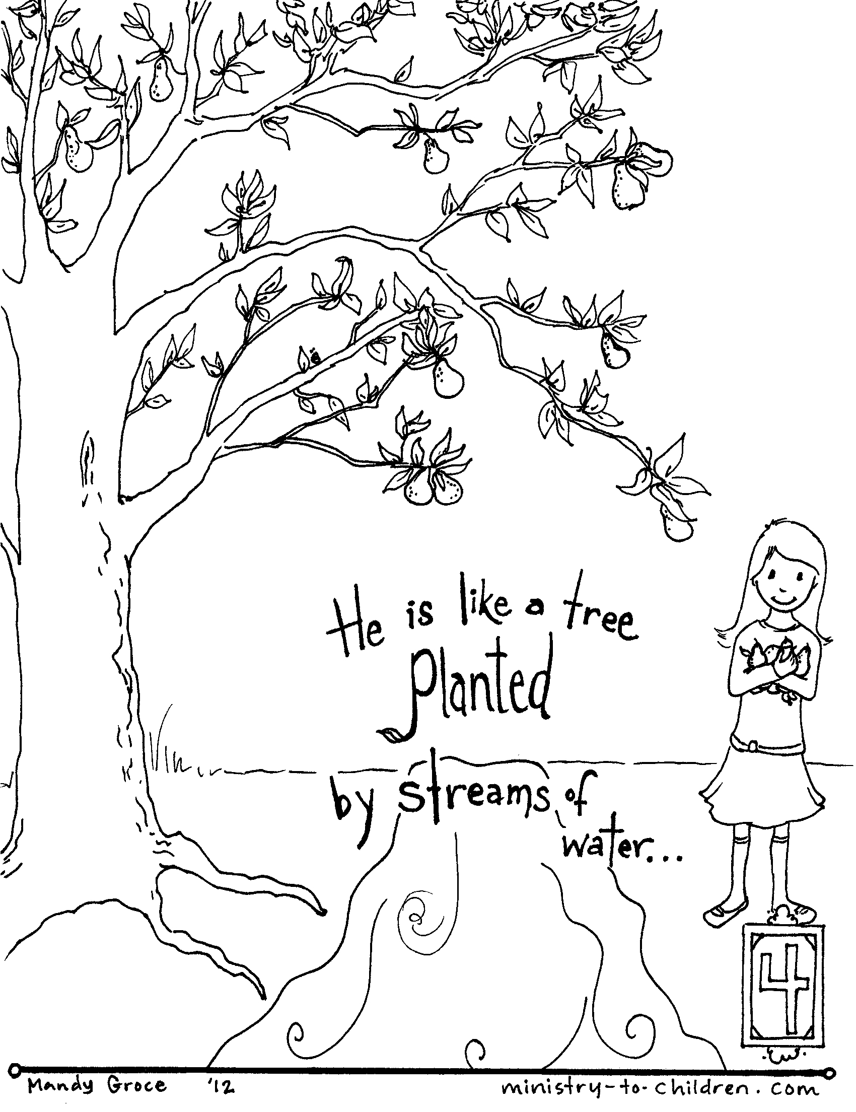 1700x2208 Bible Coloring Pages For Kids With Verses Free Printable Page