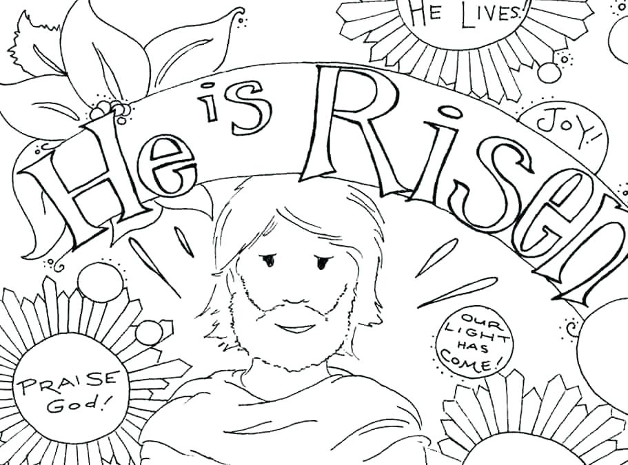 911x675 Christian Coloring Pages Free