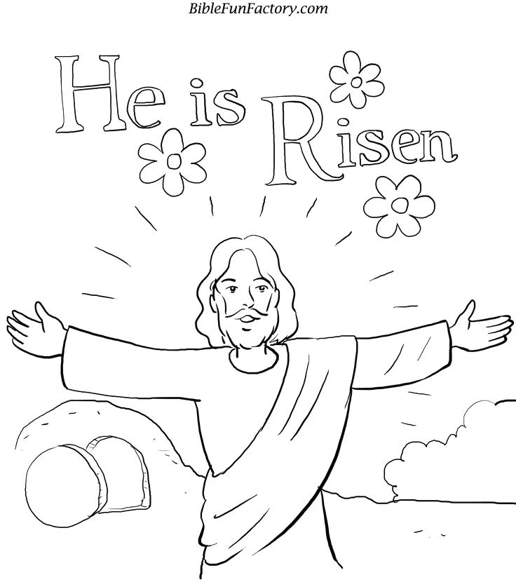 736x830 Free Easter Coloring Pages