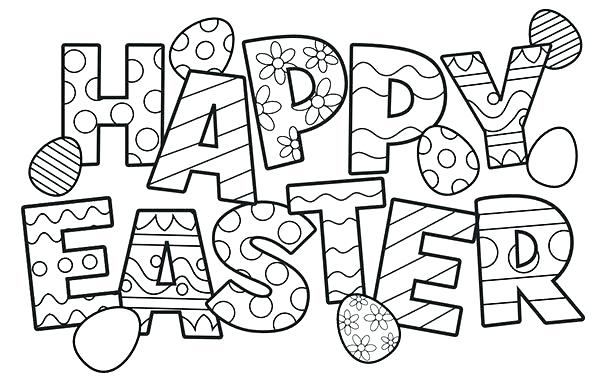 600x391 Christian Easter Coloring Pages Coloring Pages Printable And Happy