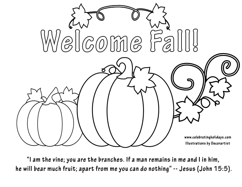 Seasonal Coloring Pages for Kids (free printables)   612x792