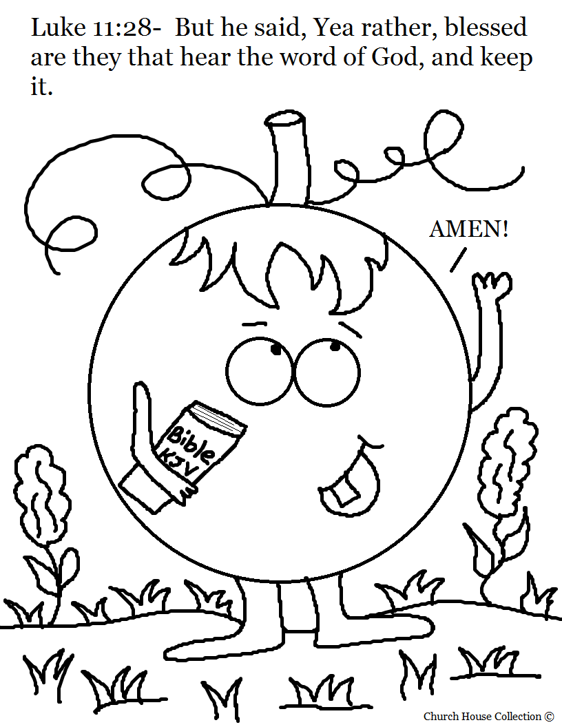 Christian Fall Coloring Pages at GetDrawings.com | Free for ...