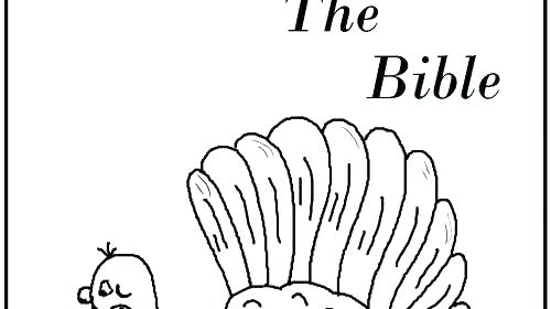 500x280 Free Christian Thanksgiving Coloring Pages Free Christian Fall