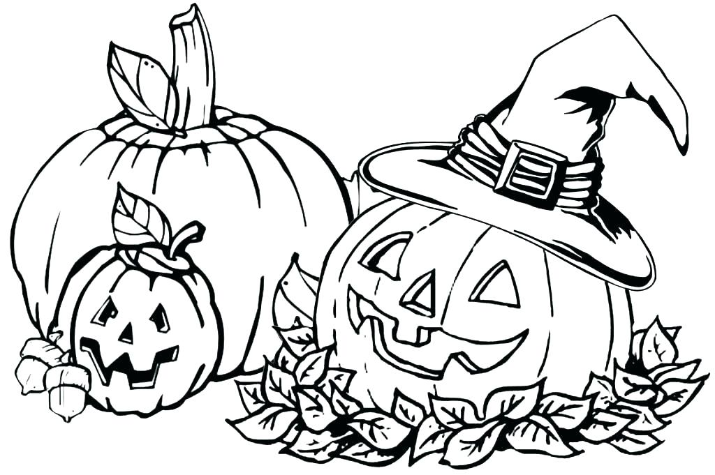 1024x681 Pumpkin Coloring Pages Free