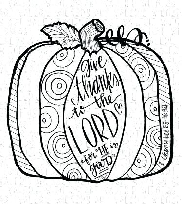 374x419 Christian Fall Coloring Pages Happy Thanksgiving Blog Bible