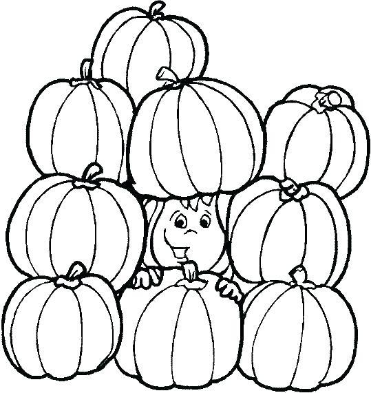 539x571 Coloring Pumpkin Christian Pumpkin Coloring Pages Pumpkin Color