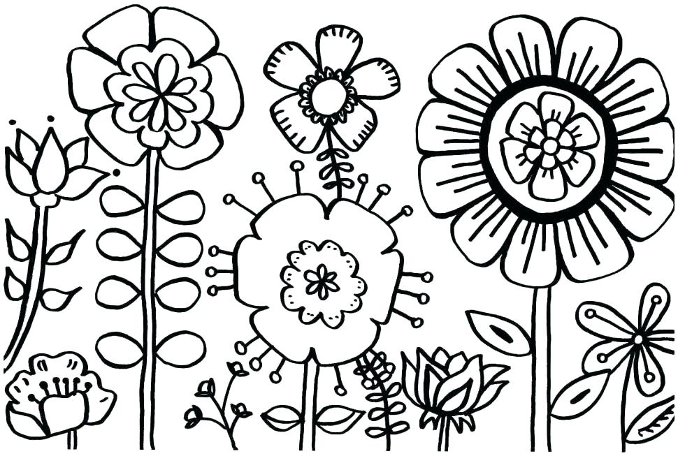 970x653 Free Spring Coloring Pages Spring Coloring Sheets Free Printable