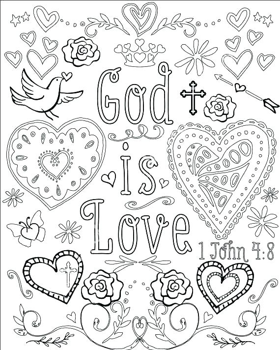 570x712 Free Christian Coloring Pages Free Christian Coloring Pages Free