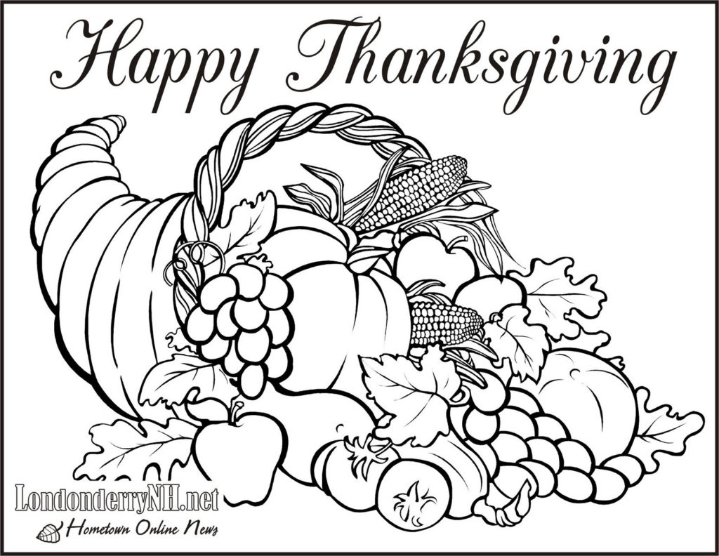 1024x792 Christian Thanksgiving Coloring Pages Day Kids Tumblr