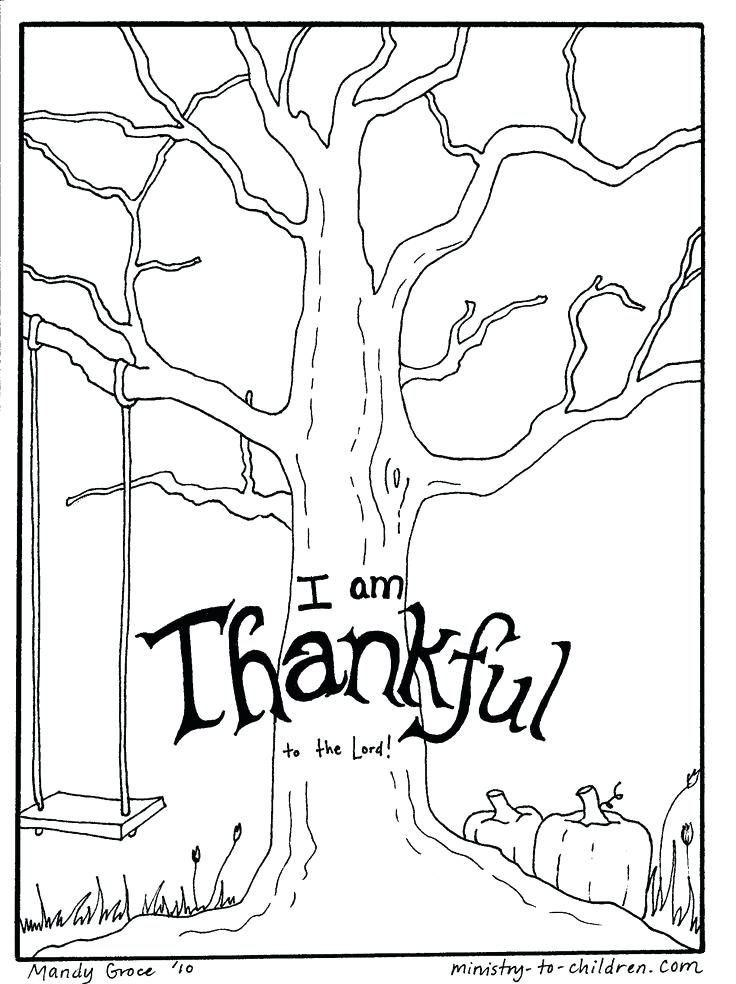 Christian Thanksgiving Coloring Pages Free