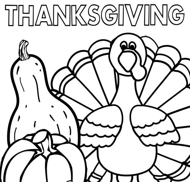 624x600 Free Christian Thanksgiving Coloring Pages Happy Thanksgiving