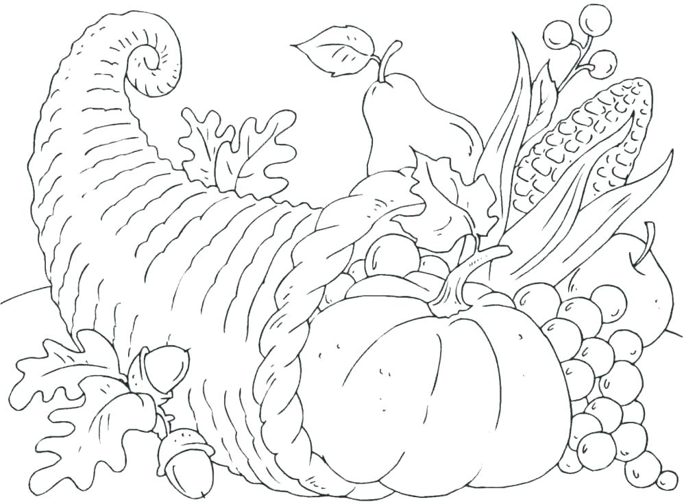 998x736 Thanksgiving Coloring Pages Printable Free Thanksgiving Printable