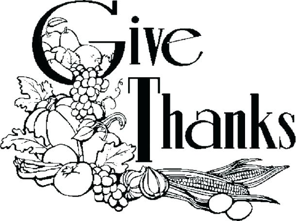610x455 Free Coloring Pages Religious Free Printable Religious Give Thanks