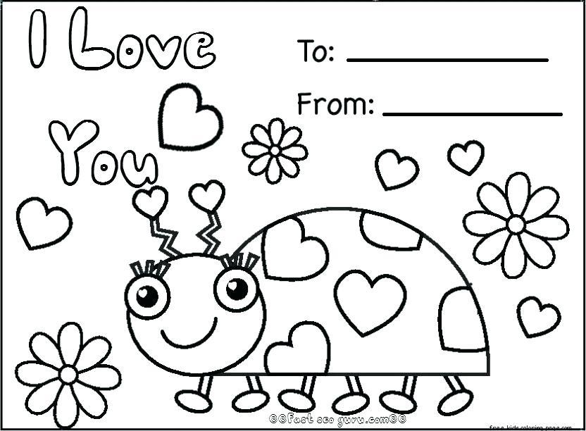 832x612 Preschool Valentine Coloring Pages Unicorn Valentine Coloring Page