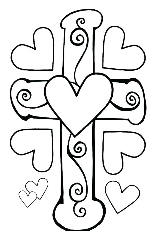 550x852 Valentine Coloring Pages Free Shrewd Christian Valentine Coloring