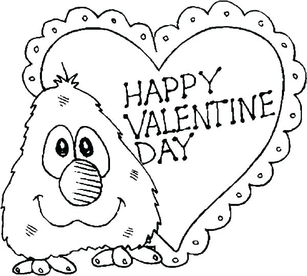 600x539 Christian Valentine Coloring Pages