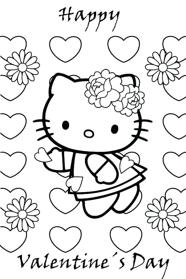 Christian Valentines Coloring Pages