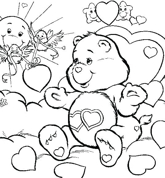 536x576 Free Printable Valentines Coloring Pages More Images Of Valentines