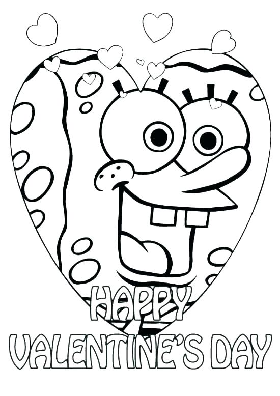 550x778 Valentine Coloring Pages