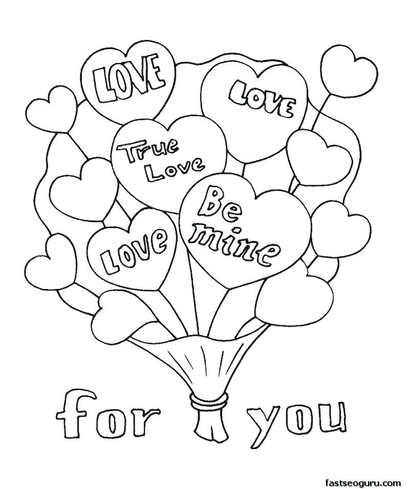 803x956 Christian Valentines Day Coloring Pages Draw Printable For Your