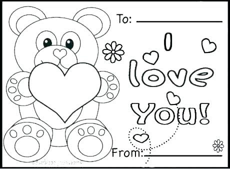 460x338 Valentines Day Colouring Pages Pdf Free Printable Coloring