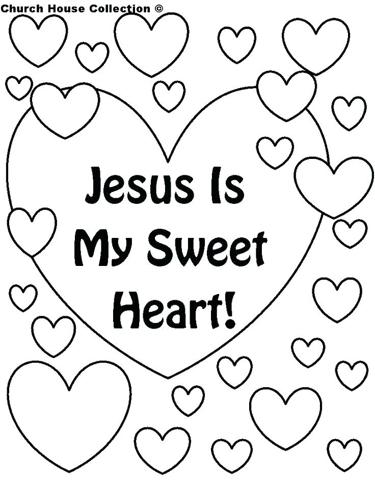 Christian Valentines Day Coloring Pages at GetDrawings.com | Free ...