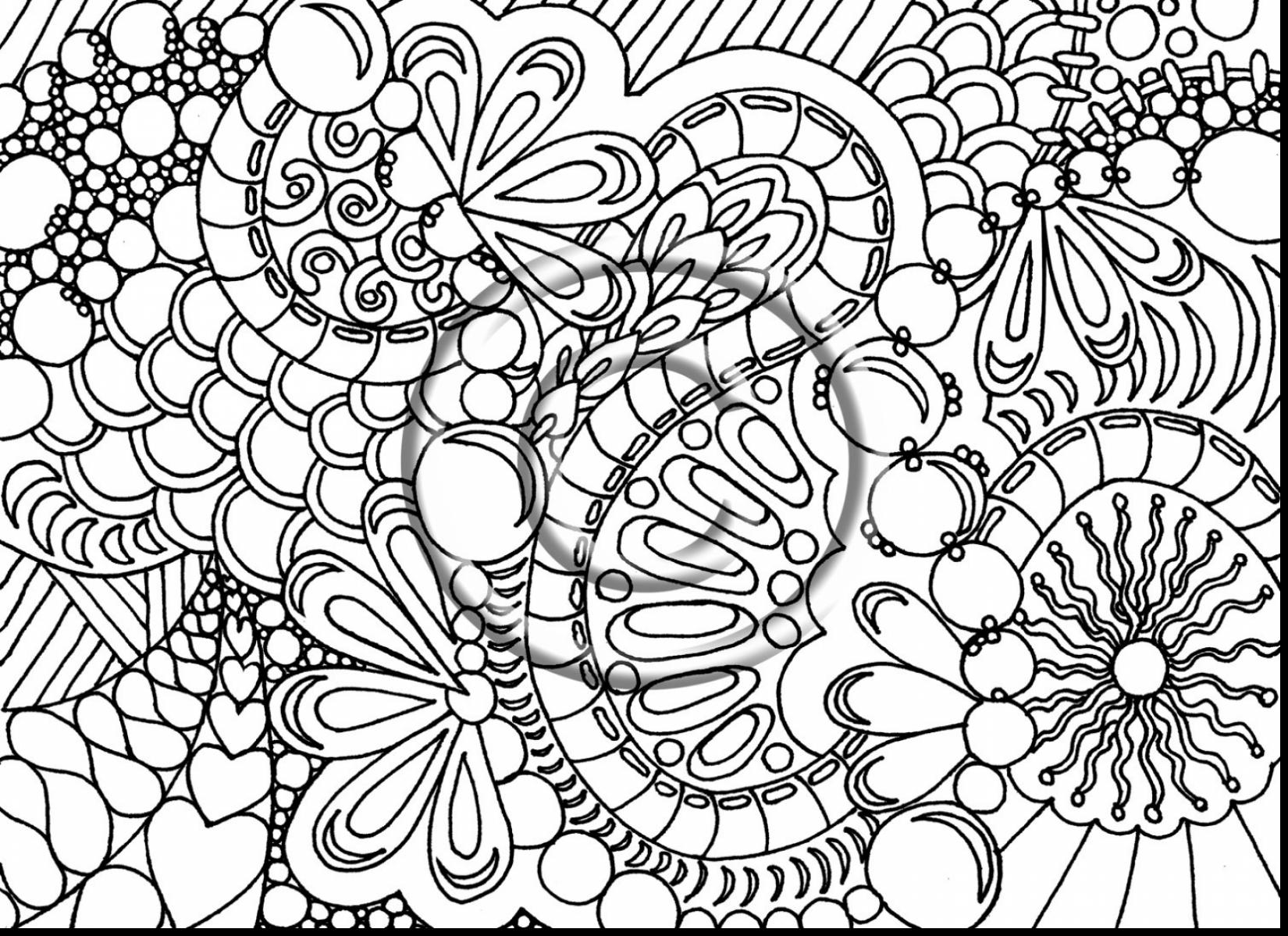 Christmas Advanced Coloring Pages at GetDrawings.com | Free for ...
