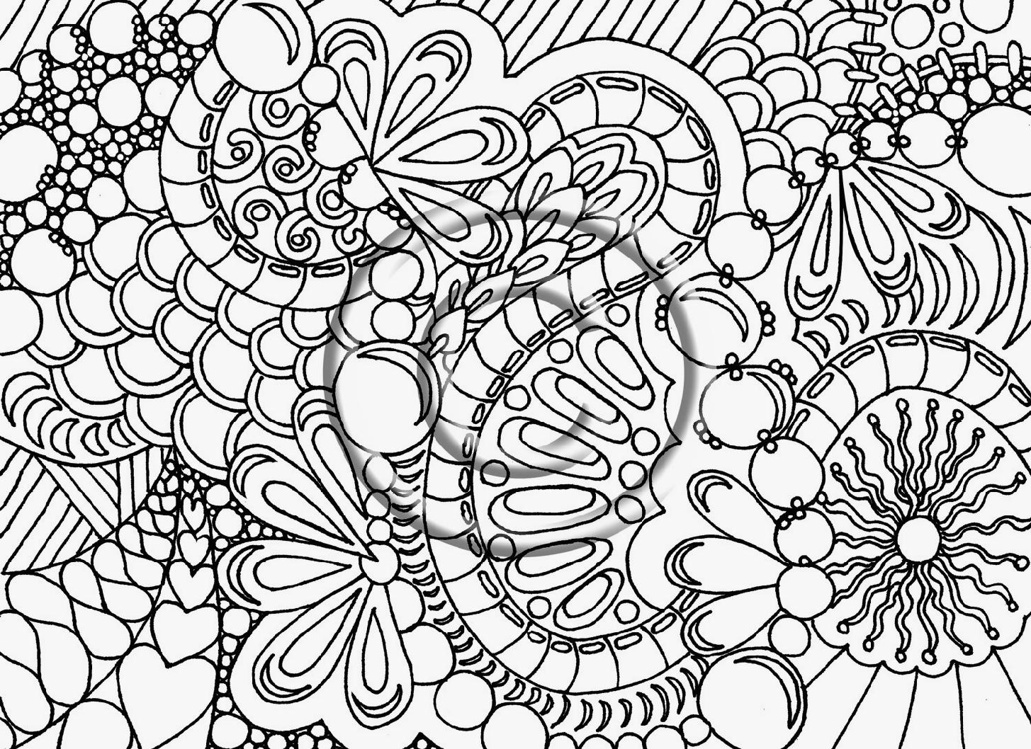 Christmas Advanced Coloring Pages At Getdrawings Com Free For
