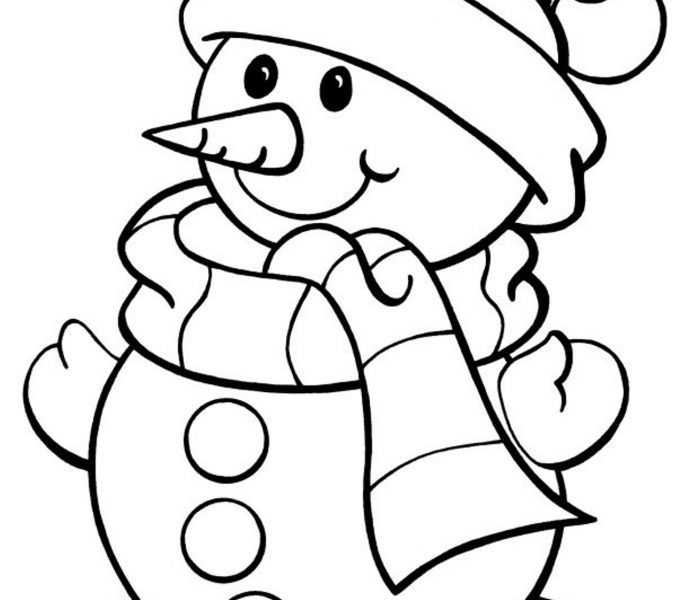 678x600 Free Winter Coloring Pages Free Winter Coloring Pages Coloring