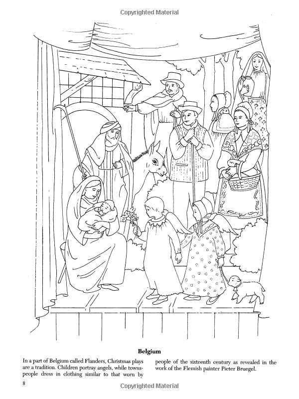 600x800 Christmas Around The World Coloring Book