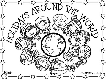 350x263 Christmas Around The World Coloring Pages Download