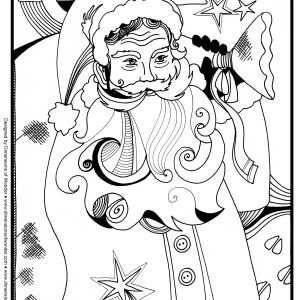 300x300 Coloring Pages Christmas Gifts New Christmas Presents Coloring